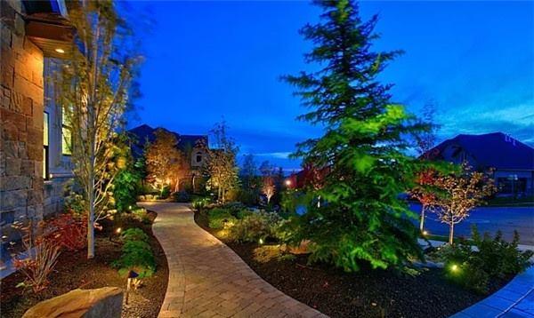 别墅景观照明设计